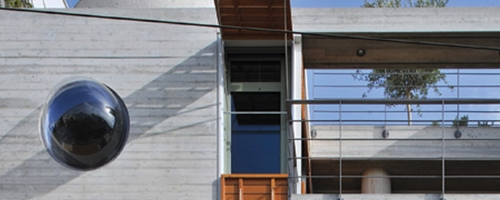 modern athenian architecture banner