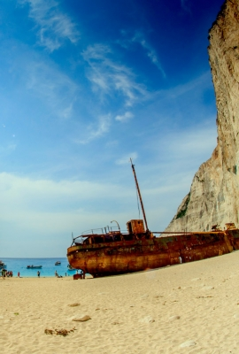 navagio beach the smugglers cove tour image