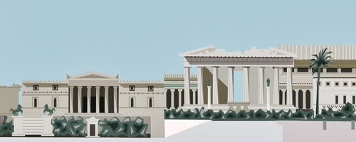 the parthenon throughout the years banner