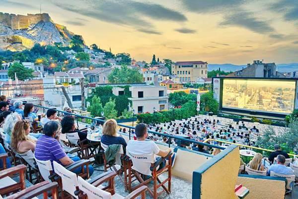 6 Top Open-air Cinemas in Athens