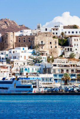 the medieval castle town of naxos tour image