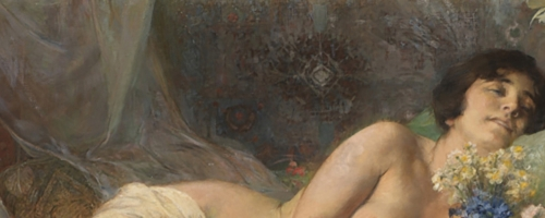 scent of a woman greek painting header