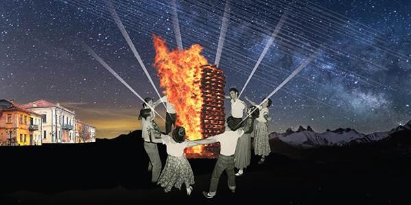 Φλώρινα: Οι μαγικές φωτιές των Χριστουγέννων