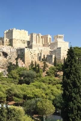 En route pour Acropole main