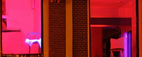 The Red Light District header
