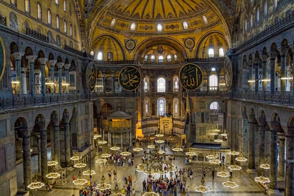 Hagia Sophia, the world-famous Museum