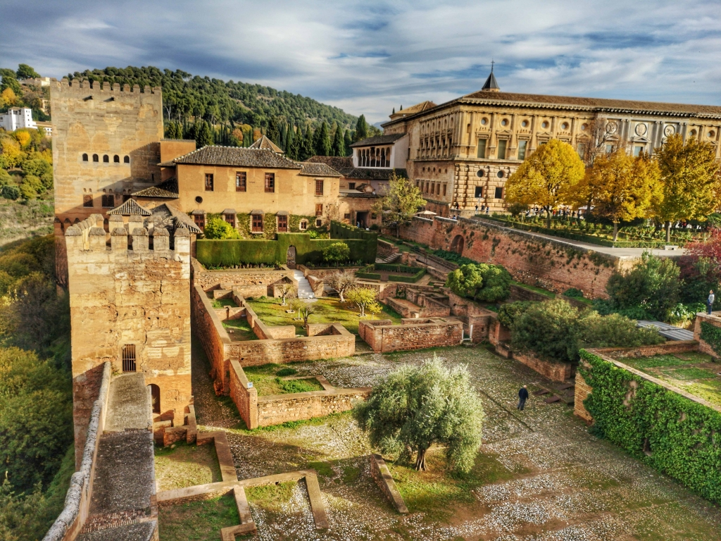 Virtoual tour Alhambra Palace, Granada, Spain