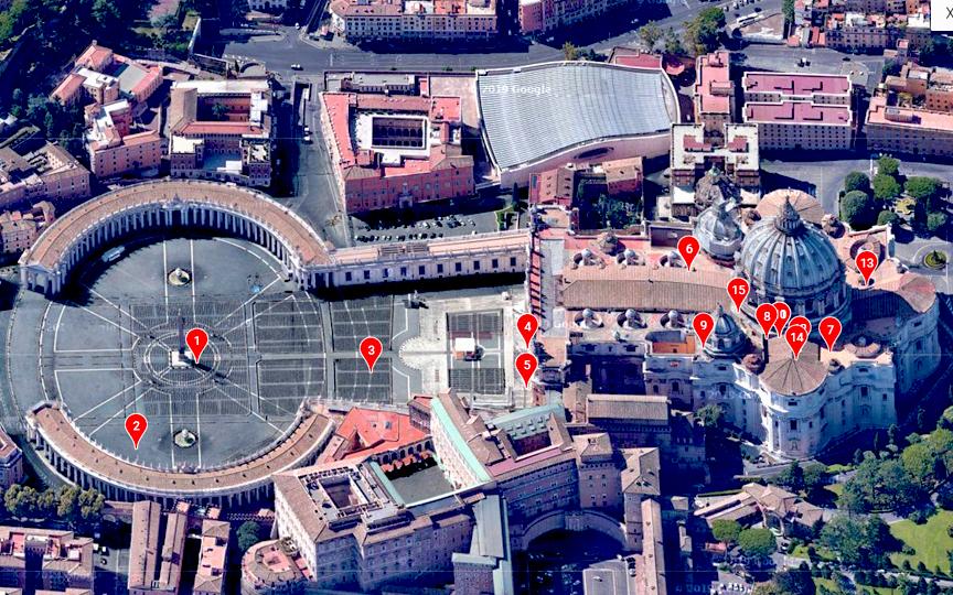 Peter's Basilica HORIZONTAL SAT 2 1