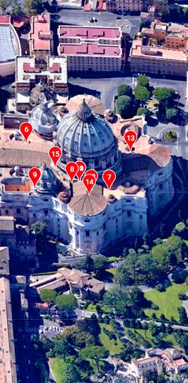 Peter's Basilica PORTRAIT SAT 5 1