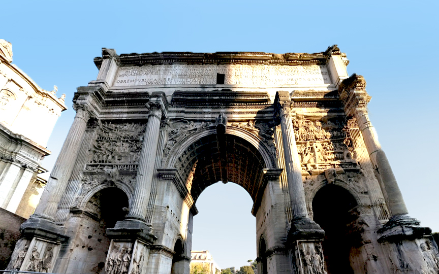 Roman Forum HORIZONTAL STREET 1