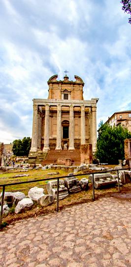 Roman Forum PORTRAIT STREET 1