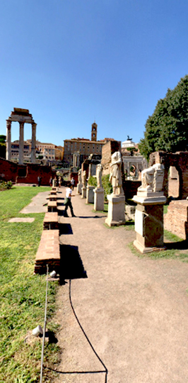 Roman Forum PORTRAIT STREET 2
