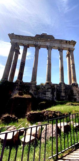 Roman Forum PORTRAIT STREET 3