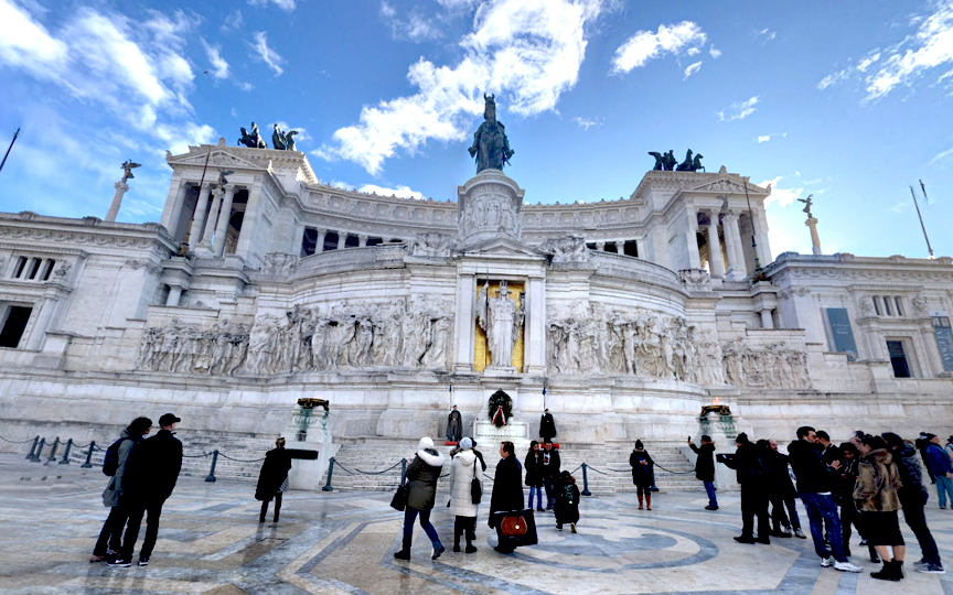 Rome's city HORIZONTAL STREET 1
