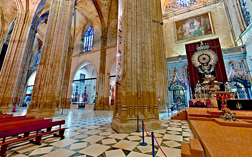 Seville Cathedral HORIZONTAL STREET 3