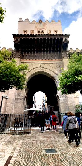 Seville Cathedral PORTRAIT STREET 2