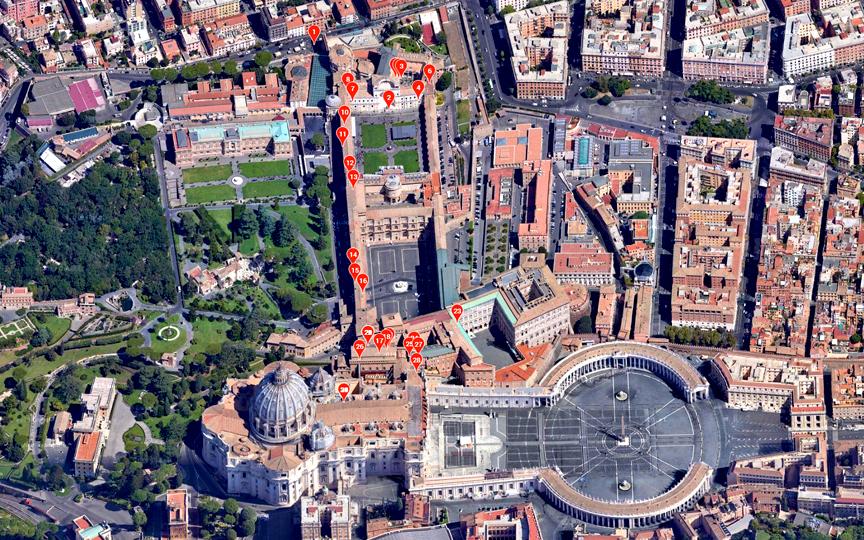 Vatican HORIZONTAL SATELLITE