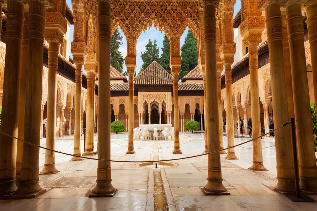 Alhambra Palace brief history