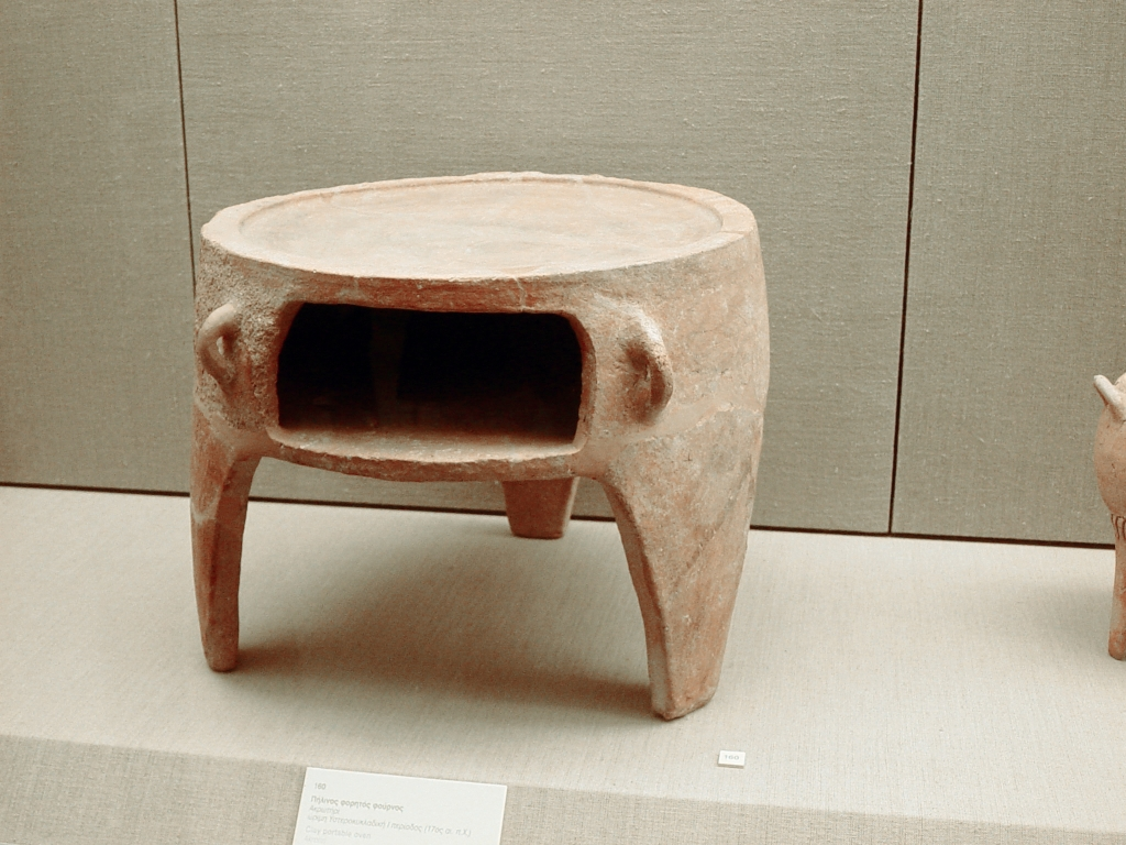 Minoan Stone Oven Akrotiri