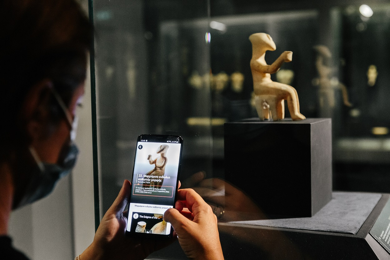 Clio Muse and the Museum of Cycladic Art Join Forces