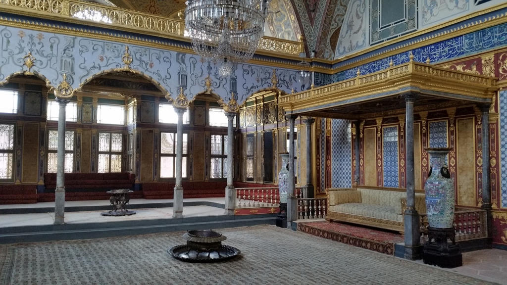 Topkapi palace is a must-see