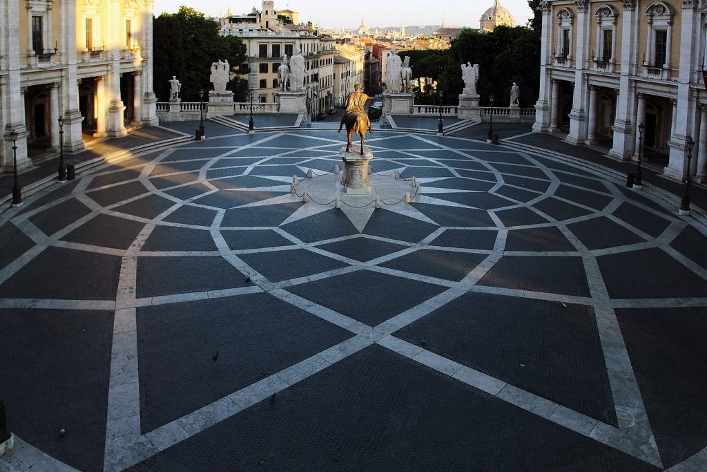 Piazza del Campidoglio in Rome