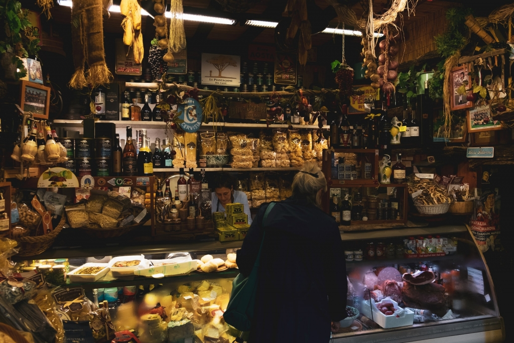 food market in Florence