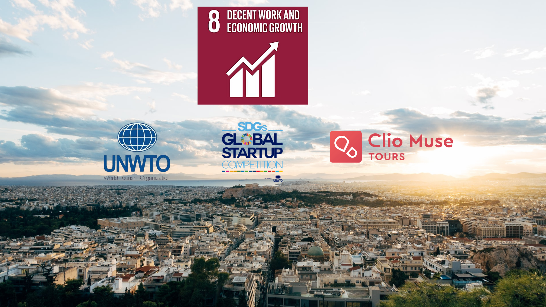 Clio Muse Is Among The Winners Of The United Nations World Tourism Organization SDGs Global Startup Competition