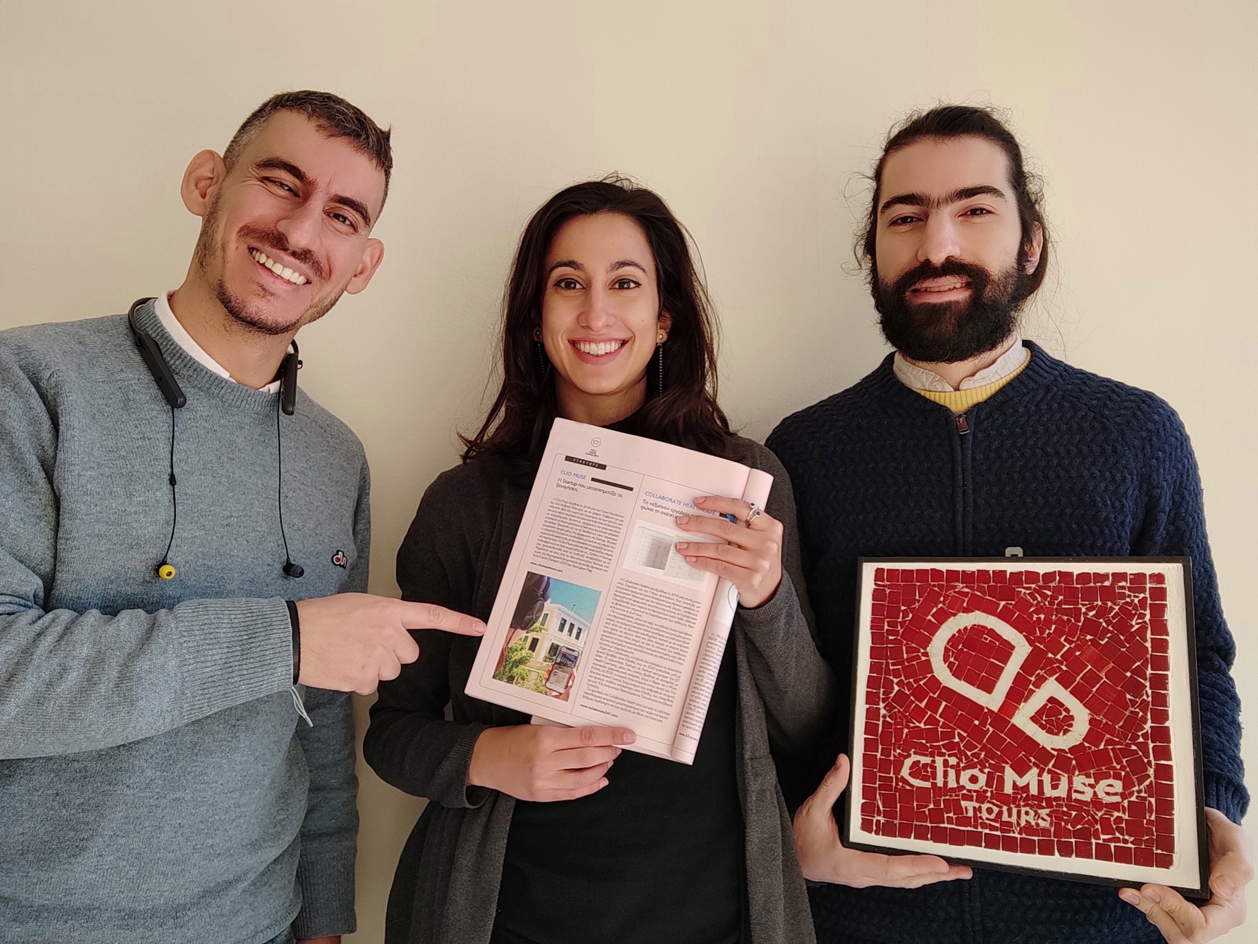"""Clio Muse in Startupper Mag """"Game Changers"""" 2020"""