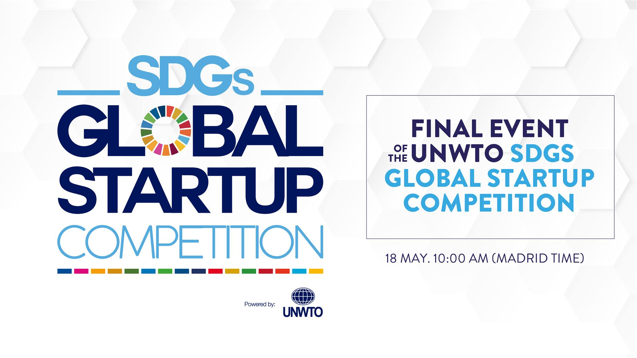 We're Going to The Final Event of The UNWTO SDG's Global Startup Competition