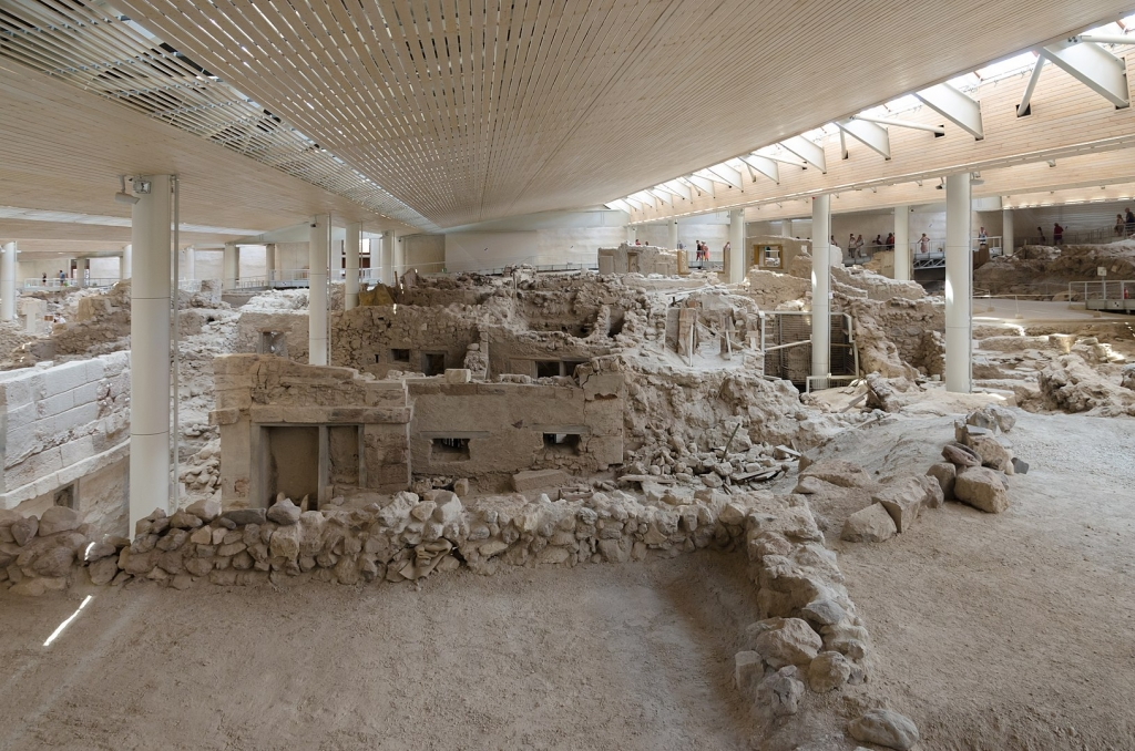 Archaeological site of Akrotiri Santorini self-guided tour