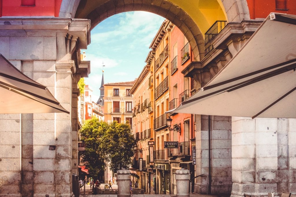 Madrid city self-guided walking tour