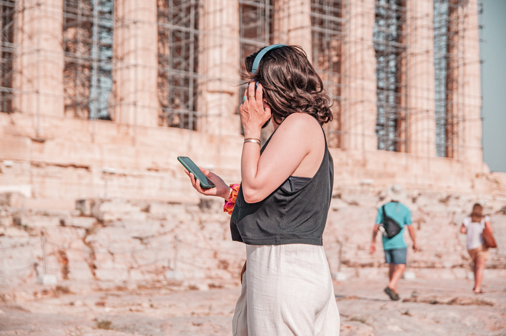A Day in Athens Like a Tourist with Acropolis Self-Guided Audio Tour