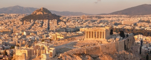 self-guided Athens city walking tour