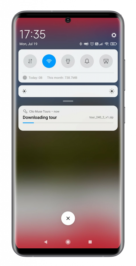 android audio tour activation 06